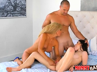 Ryland Ann and Parker Swayze nasty 3some roughly the bedroom