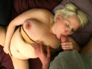 Carola takes huge cock