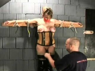 Enslaved newborn stabbing bdsm adult hardcore act first of all rave at camera