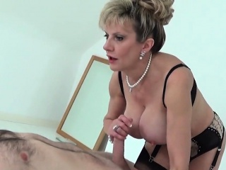 Inglorious english milf lady sonia hand-outs her massive natu