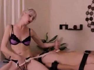XXX Two Mistresses Chasten Intercourse Slaves