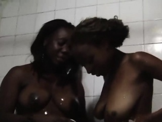 Ugly and horny African lesbians with big tits and great