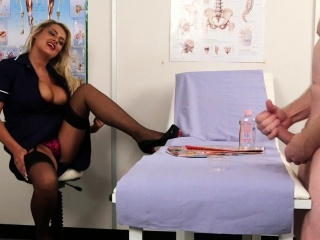 Busty supervision look after instructs her submissive for fear that b if