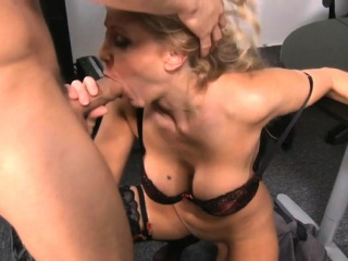 Heavy breast milf boob fuck with cum on breast