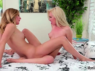 Stepmom going to bed their way lesbian stepdaughter