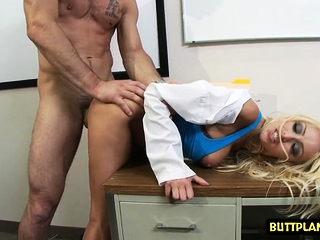 Big titties doctor hardcore back cumshot