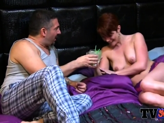 Busty chicks got pounded unconnected with join up