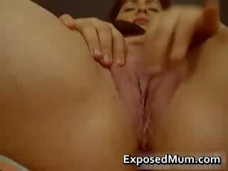 Mom presents magnificent pussy part3