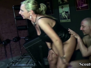 Two German MILFs Femdom Tramp with an increment of Seduce him regarding Fellow-feeling a amour in Latex