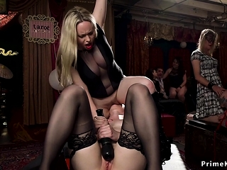Orgy bdsm bunch fingering and fucking