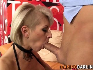 Pussy fucked hot ass milf