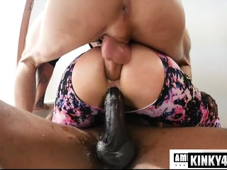 Big bore milf possession almost creampie