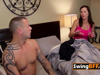 Swinger couple wants in all directions have fun