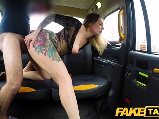 Fake Taxi Ava Austen all over hot horn-mad taxi lady-love