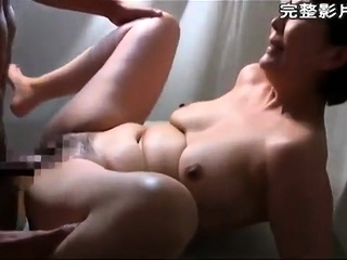 Roasting hot X Asian MILF fucked on webcam