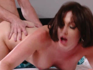 Lovely mature seduces two adolescence Auntie Fro An obstacle Rescue