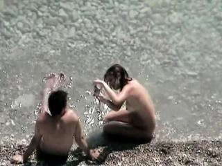Bush-league Seaside Voyeur Sex