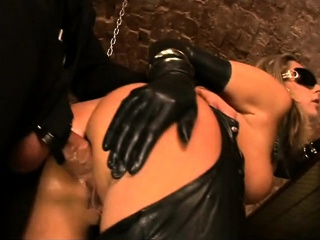 Tow-haired with Chunky Heart of hearts Gives Blowjob to The brush Dildo on Liv more