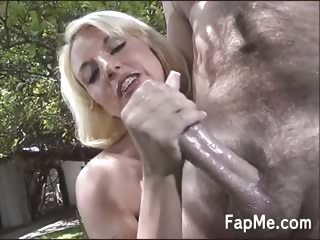 Hottie makes a big cock so damn hard