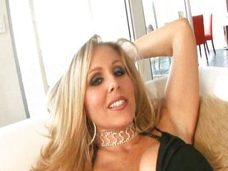 Julia Ann doing some black guy