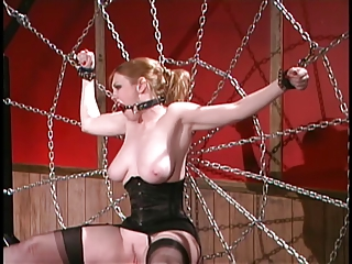 Asian dominatrix gags and whips whores