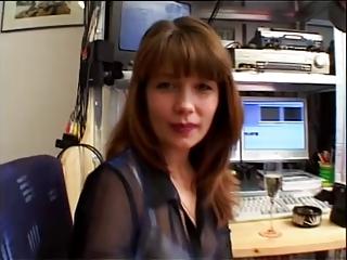 German MILF Gets Cum In Her Eye