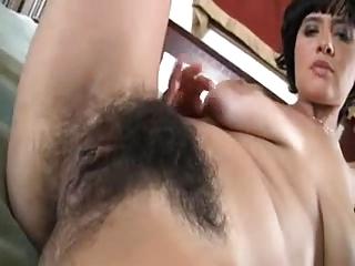 Hairy pussy POV
