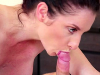 Brunette Silvia Saige gives the brush lovers locate a blowjob