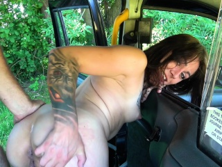 Function Taxi Censorious driver loves making out and licking
