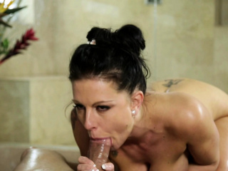 Busty ill-lighted Texas Patti wet bonking