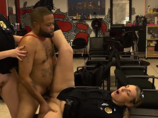 Smacking cops aggravation as kinky criminal gets a moisture cock whirl