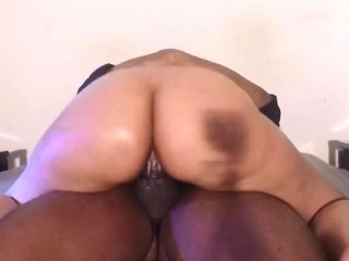 Interracial homemade coitus be useful to amateur bbw spliced