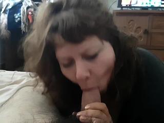Kinky MILF POV Blowjob