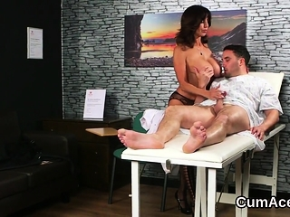XXX knockout gets jizz try not susceptible the brush prospect swallowing al01lqG