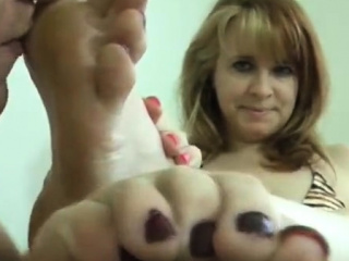 MILF Foot and Pantyhose Amulet Sex