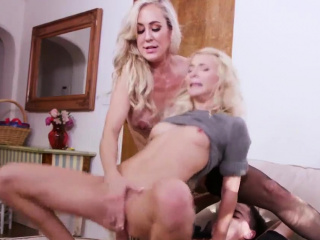 Milf massage young Halloween Special With A Trilogy