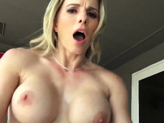 Milf tricked massage This MILF turn on the waterworks only knows what she