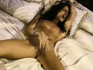 Muted Pussy Coupled with Retro Dildo
