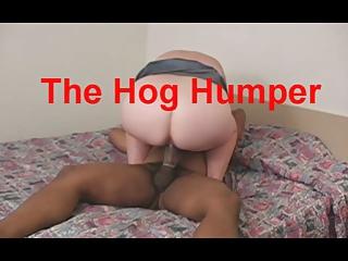 TheHogHumper - Used White Wife Sucks & Rides BBC