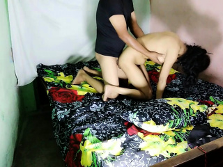 Indian Housewife Enjoying Verge on Sexual relations
