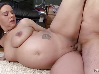 PREGNANT Pang LABIA MOM Coax HER STEP SON Adjacent to FUCK HER