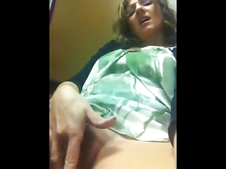 Hot Milf fingers herself on cam
