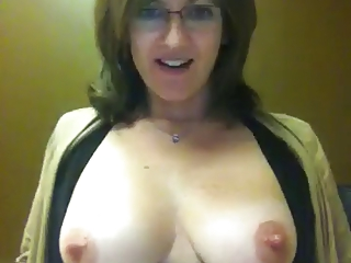 Webcam flash tits