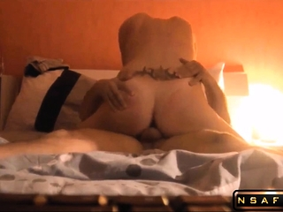 Hot French get hitched cowgirl riding my dick