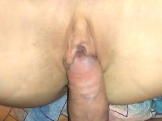 Sexy milf riding dick with a buttplug in the air the brush asshole fidelity 1