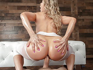 Yoga MILF Play-act An Anal Beast - Ashley Fires