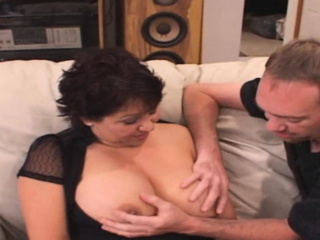 Big Teat Latina Wife Fucked away from Censorious D