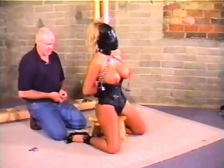 Villeinage with an increment of blowjob hardcore BDSM porn