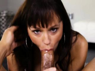 Alana Cruise messy blowjob