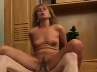 Despondent Matured Russian Fucks Young Guy Hard Cock